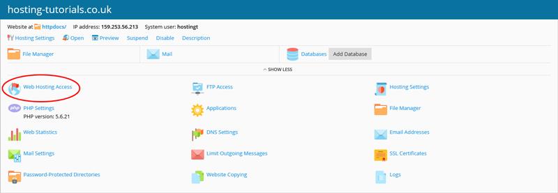 Managing FTP Accounts - Knowledgebase - Host-it Internet